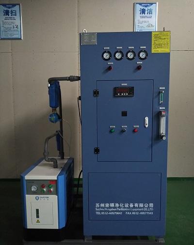 光纤行业制氮机99.99纯度发货到无锡